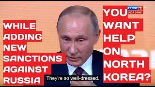 Putin On Washington Asking For Russian Help: Americans Are Interesting Folks