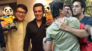 Salman Khan MEETS Jackie Chan In Mumbai, Pulkit Samrat's FIGHT With REPORTER