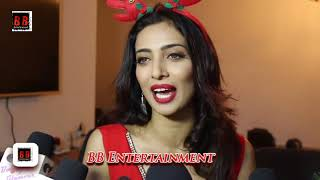 Bold Actress Heena Panchal Christmas Photoshoot As Sexy Santa With Interview