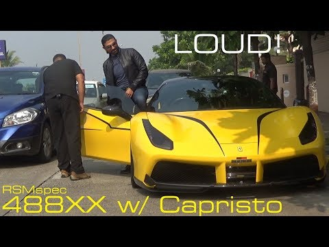 Xxx Mp4 LOUD Novitec Rosso Ferrari 488 W Stage 3 Capristo Exhaust 488XX 3gp Sex
