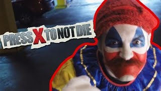 CLOWNS AND SHOWER SCENES?!? | Press X To Not Die Full Gameplay