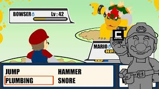 How to recreate Pokemons Battle System in Super Mario Maker!