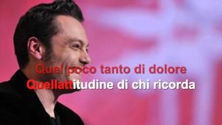 Tiziano Ferro - Indietro - Karaoke con testo