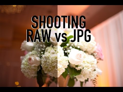 Shooting in Raw vs JPG - Tutorial