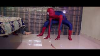 Spiderman Attack - Don't touch Psycho spider's cookies ! Inspired from Racka Racka