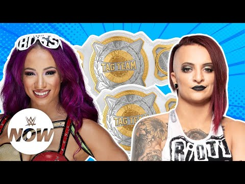 Xxx Mp4 Superstars Make Bold Claims For New Women S Tag Titles WWE Now 3gp Sex