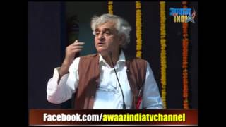 P  Sainath speech at Nagpur on the eve of 125th Birth Anniversary of Dr  Ambedkar