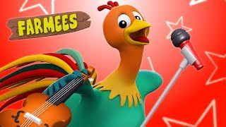 Cock A Doodle Do | Baby Nursery Rhymes Songs For Children | Rhyme For Kids | Farmees Playlist