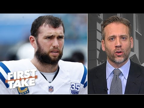 I m a little bit off the Andrew Luck bandwagon Max Kellerman First Take