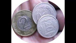 Czyszczenie monet obiegowych.Mocno zabrudzonych w dwie minuty
