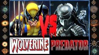 Wolverine (Marvel Comics) vs Predator (Dark Horse Comics) - Ultimate Mugen Fight 2015