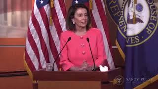 Nancy Pelosi Press Conference: Bill Barr LIED To Congress 5/2/19