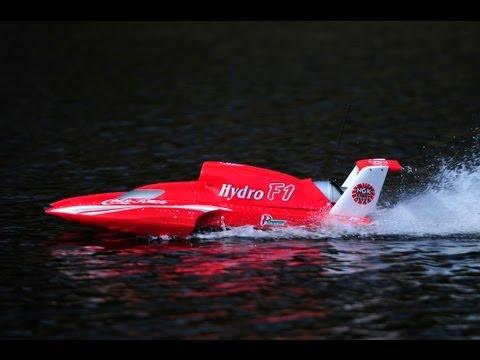 RC Hydro F1 Boat 26cc 2 stroke petrol 2.4ghz Coke Racing HD