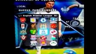 PES 2013 - Tutorial Option File PS2