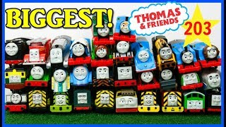BIGGEST RACE! Thomas and Friends THE GREAT RACE #203 Trackmaster Thomas Train|Thomas & Friends