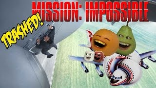 Annoying Orange - MISSION IMPOSSIBLE: ROGUE NATION TRAILER Trashed!!