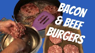 Whole Life Challenge 50/50 Burger and How To Make It  - Video