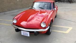 1971 Triumph GT6 MK III Signal Red 32