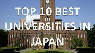 Top 10 Best Universities In Japan 2015/Top 10 Mejores Universidades De Japón En 2015