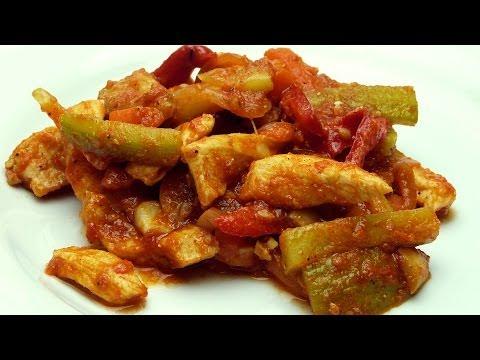 Mantarlı Tavuk Sote Tarifi - Sebzeli Tavuk Yemeği Tarifi