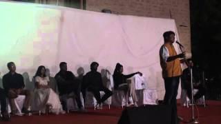 Aman Akshar   Madhyam Saxena   Shayar Sagar   PK Mast @ IIT Jodhpur