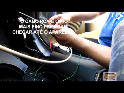 Como instalar a caixa amplificada som automotivo