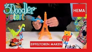 3 Doodler Start Hema - Eiffeltoren maken