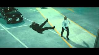 Vin Diesel vs Jason Statham Fight Rapidos y Furiosos 7