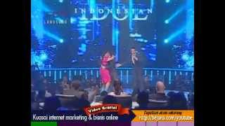 Regina ft Judika - Making Love Out of Nothing At All - Indonesian Idol 2012 - 16 Juni 2012