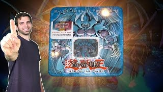 CLASSIC YuGiOh 2006 Raviel Lord of Phantasms Tin Opening! OH BABY!!