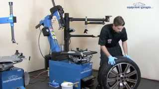 Leverless Tyre Changer - Tyre Changer Leverless Testimonial | Equipment4Garages