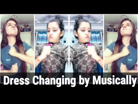 Dress changing By Musically