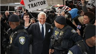 Trump ally Roger Stone pleads not guilty on charges in Russia investigation