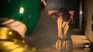 GREEN RANGER vs RYU