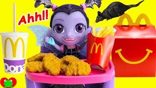 Vampirina Eats McDonald