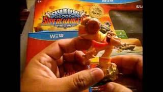 Amiibo - Skylanders SuperChargers Wii U - Unboxing en español