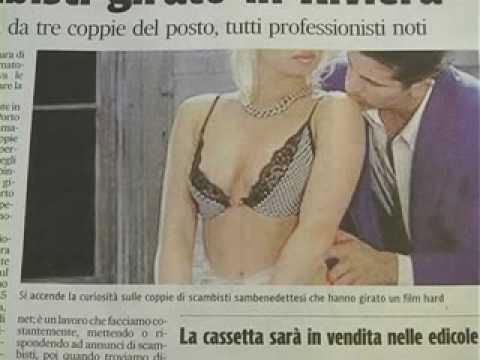 San Benedetto Un film porno con scambisti locali girato in Riviera