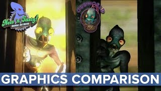 Oddworld: New 'n' Tasty - Graphics Comparison - Eurogamer