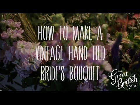 How to make a Vintage Hand-Tied Bouquet