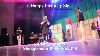 Adam A Zango's birthday