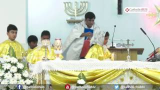 Maundy Thursday Mass @ St  Joseph's Church, Bolarum, Hyderabad, TS, India  13-04-17