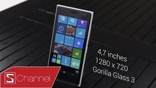 Schannel - Đánh giá Lumia 730 : Thiết kế, màn hình, camera - Phần 1