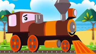 Model trains! Cartoon Compilation!