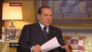euronews interview - Silvio Berlusconi :