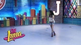 Soy Luna -Detrás de escena -Luna y Ámbar en la pista