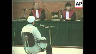 GNS Mukhlas sentenced to death for Bali bombings