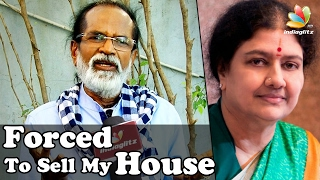 Gangai Amaran Interview on how VK Sasikala forcefully took his House | Controversial Speech