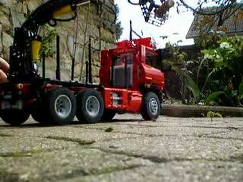 Truck Lego With Pneumatic Arm By Nico 71