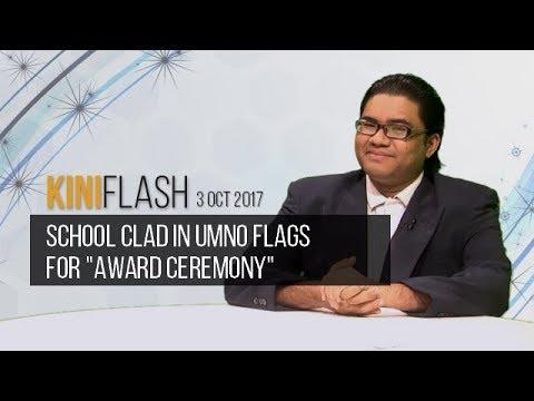 Xxx Mp4 KiniFlash 3 Oct School Clad In UMNO Flags For Award Ceremony 3gp Sex