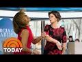 'Fifty Shades Darker' Star Marcia Gay Harden Gives Hoda A (Pretend) Slap!   TODAY